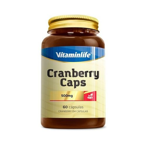 Cranberry Caps VITAMINLIFE 500mg 60 Cápsulas