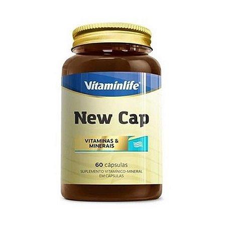 New Cap (Vitaminas e Minerais) VITAMINLIFE 60 Cápsulas