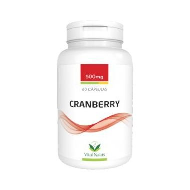 Cranberry VITAL NATUS 500mg 60 Cápsulas