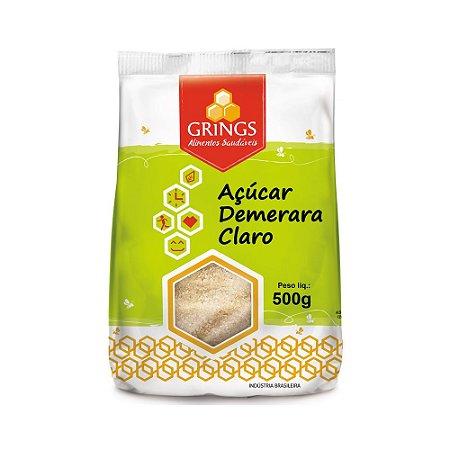 Açúcar Demerara Claro GRINGS 500g