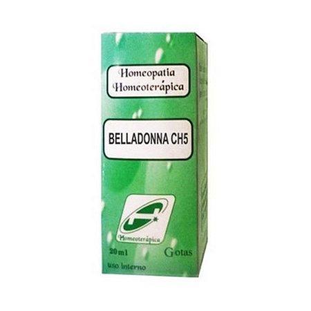 Beladonna CH5 HOMEOTERÁPICA (Garganta) 20ml