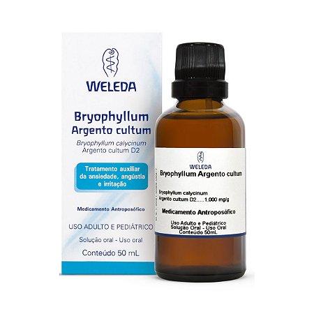 Bryophyllum Argento Cultum WELEDA (Ansiedade angústia e irritação) 50ml