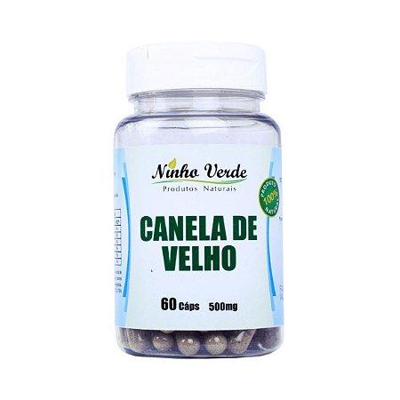 CANELA DE VELHO 60 CAPS 500MG NINHO VERDE