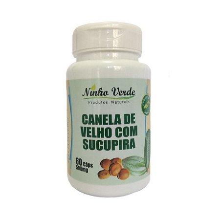 CANELA DE VELHO E SUCUPIRA 60 CAPS NINHO VERDE