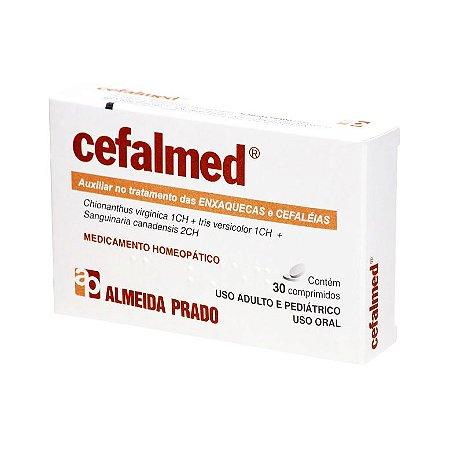 Cefalmed Complexo Homeopático ALMEIDA PRADO (Enxaquecas e Cefaléia) 30 Comprimidos