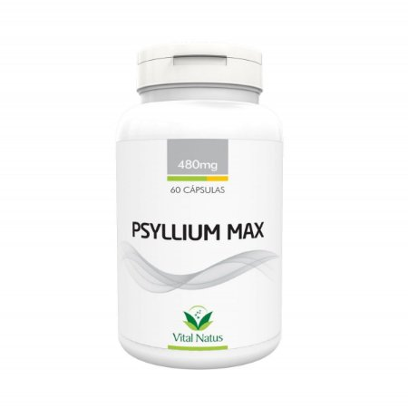 Psyllium Max VITAL NATUS 480mg 60 Cápsulas