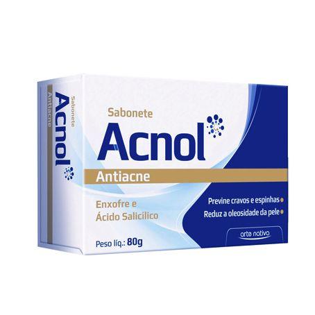 Sabonete Acnol ARTE NATIVA Antiacne 80g