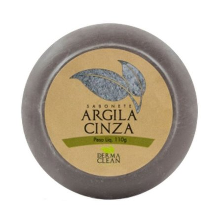 Sabonete de Argila Cinza DERMACLEAN 110g