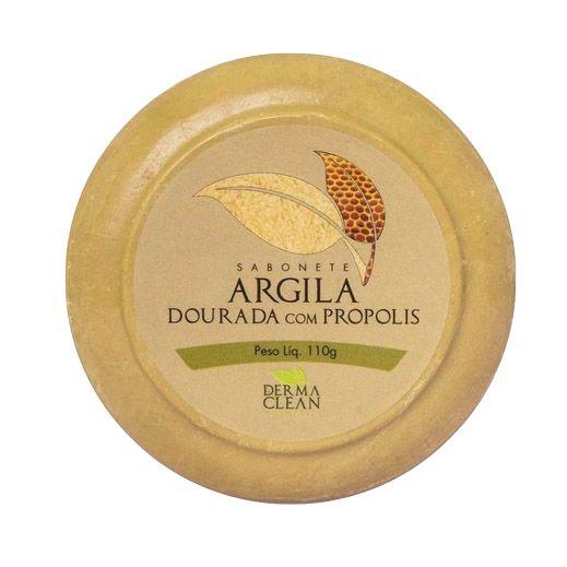 Sabonete de Argila Dourada com Própolis DERMACLEAN 110g