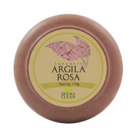 Sabonete de Argila Rosa DERMACLEAN 110g