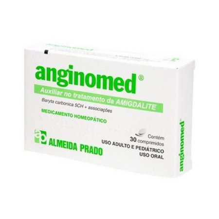 Anginomed Complexo Homeopático ALMEIDA PRADO (Amigdalite) 30 Comprimidos