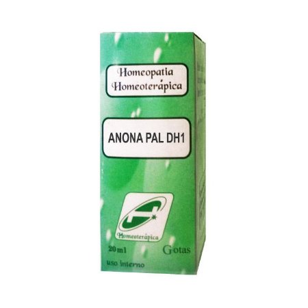Anona pal. DH1 HOMEOTERÁPICA (Dores do Nervo Ciático) 20ml