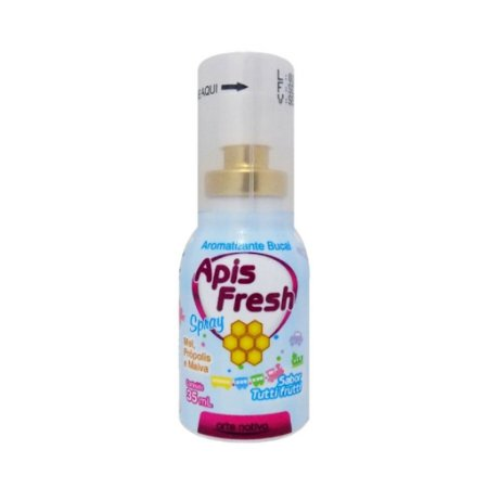 Apis Fresh Spray de Mel Própollis e Malva ARTE NATIVA Sabor Tutti Frutti 35ml
