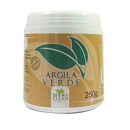 Argila Verde em Pó (Secativa e Absorvente) DERMACLEAN 250g