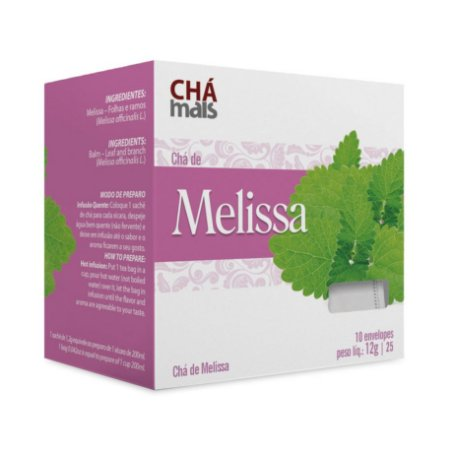 Chá de Melissa CHÁ MAIS (ClinicMais) 10 Sachês