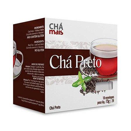 Chá Preto CHÁ MAIS 10 Sachês