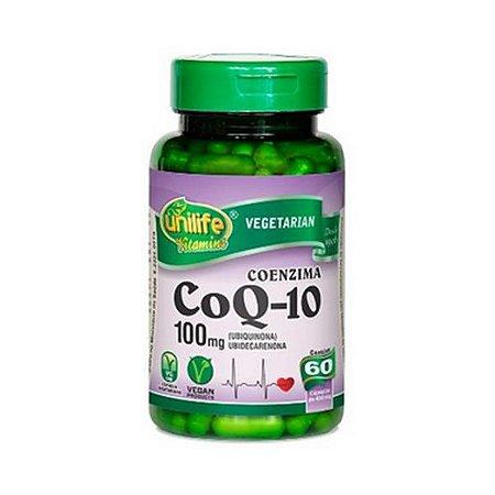 Coenzima Q10 (Ubiquinona) UNILIFE 100mg 60 Cápsulas