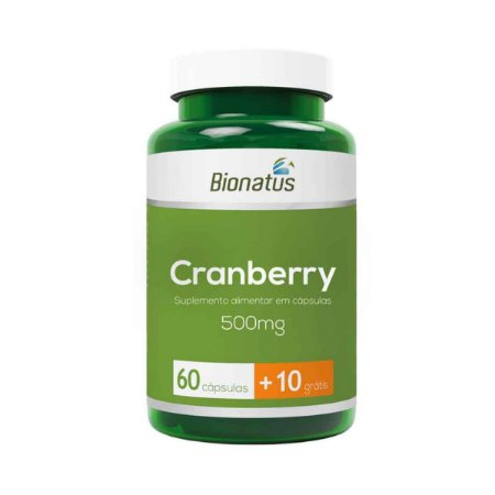 Cranberry BIONATUS 500mg 70 Cápsulas