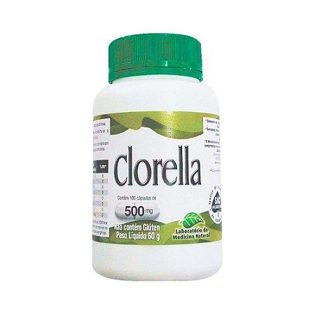 Clorella LAB. MEDICINA NATURAL 500mg 100 Comprimidos