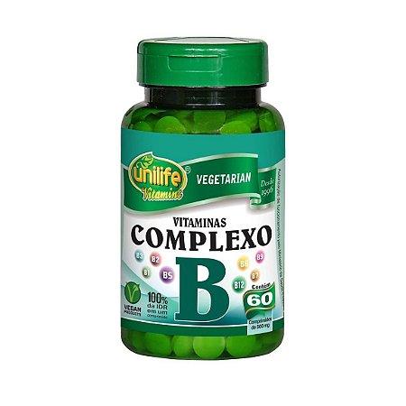 COMPLEXO B 60 CAPS 500MG UNILIFE