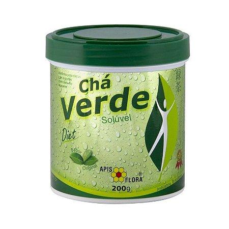 Chá Verde Solúvel APIS FLORA Diet Sabor Original 200g