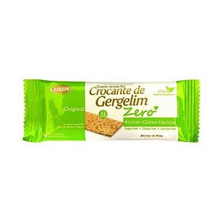 CROCANTE DE GERGELIM ZERO  AIRON 10G
