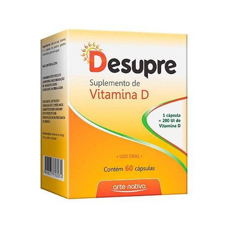 Desupre Vitamina D ARTE NATIVA 60 Cápsulas