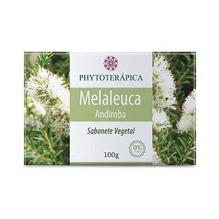 Sabonete Vegetal de Melaleuca (Andiroba + Manteiga de Karité PHYTOTERÁPICA 100g