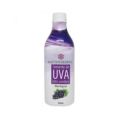 Óleo Vegetal de Semente de Uva (Vitis vinifera) PHYTOTERÁPICA 500ml