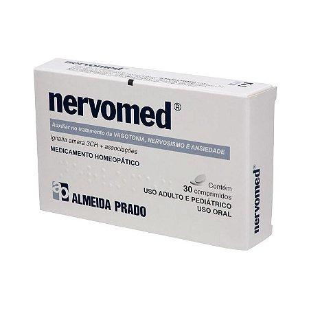Nervomed Complexo Homeopático ALMEIDA PRADO (Vagotonia, Nervosismo e Ansiedade) 30 Comprimidos