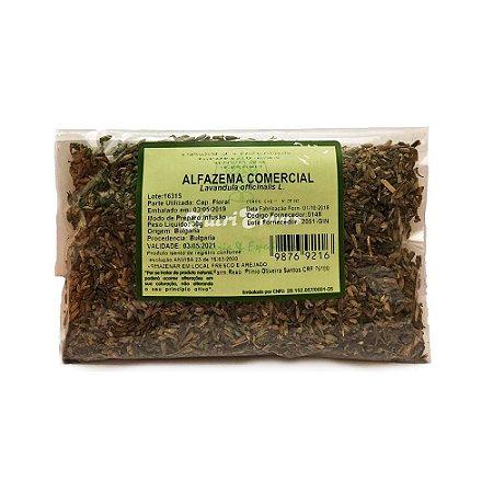 Alfazema Comercial (Lavandula officinalis) Flor NUTRI ERVAS 30g