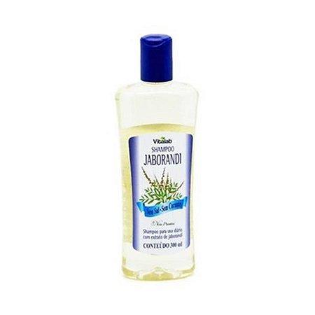 Shampoo Jaborandi Sem Sal e Sem Corantes Vitalab (Vita Plankta) Uso Diário 300ml