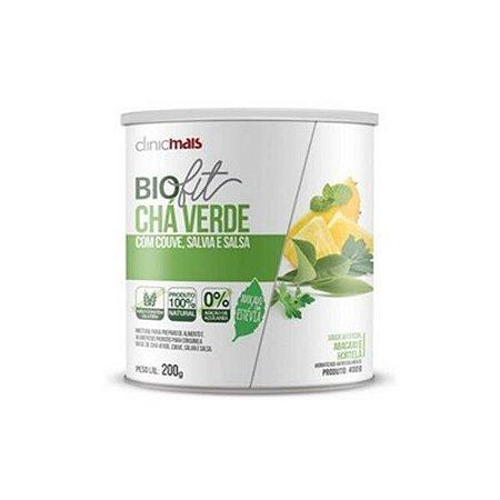 BioFit Chá Verde com Couve Sálvia e Salsa Solúvel CHÁ MAIS (ClinicMais) 200g