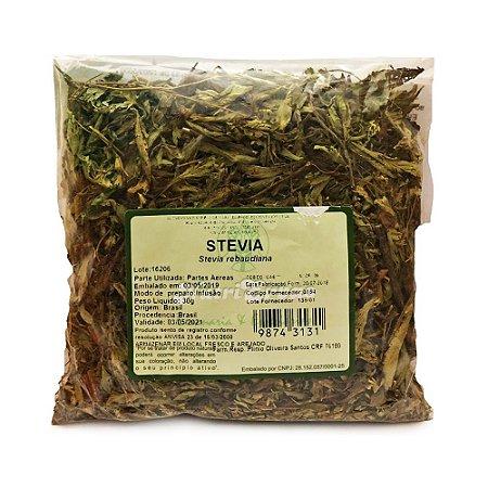 Stévia (Stevia rebaudiana) Parte Aérea NUTRI ERVAS 30g