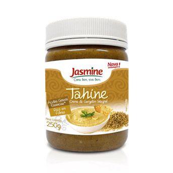 Tahine Creme de Gergelim Integral JASMINE 250g