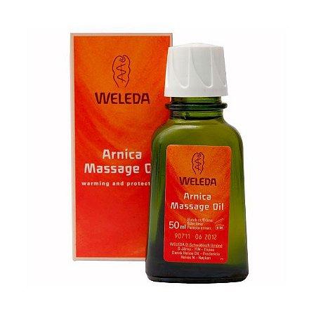 Óleo de Bétula com Arnica WELEDA para Massagem 50ml