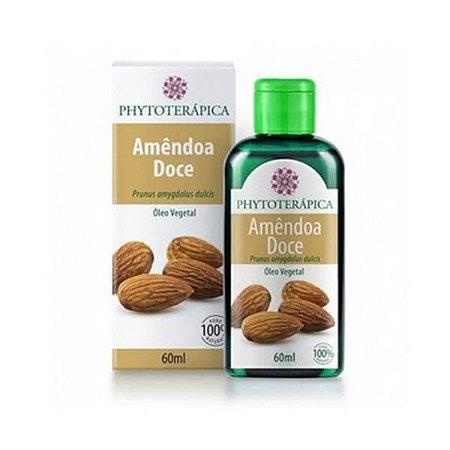 Óleo de Amêndoa Doce (Prunus amygdalus dulcis) PHYTOTERÁPICA 60ml