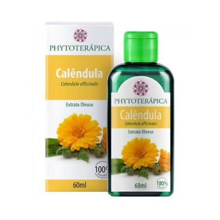 Extrato Oleoso de Calêndula (Calendula officinalis) PHYTOTERÁPICA 60ml