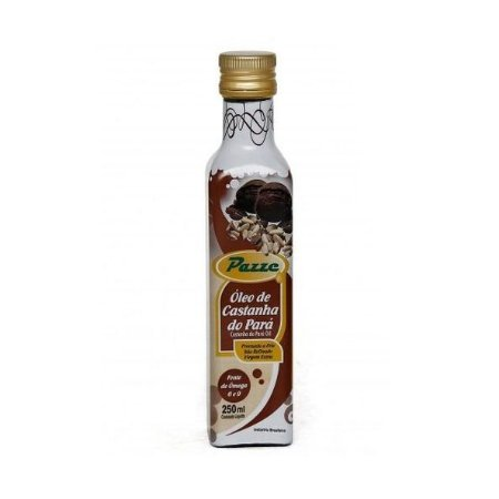 OLEO DE CASTANHA DO PARA 250ML  PAZZE