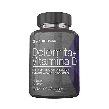 Dolomita+Vitamina D MEDIERVAS 500MG 90 Cápsulas