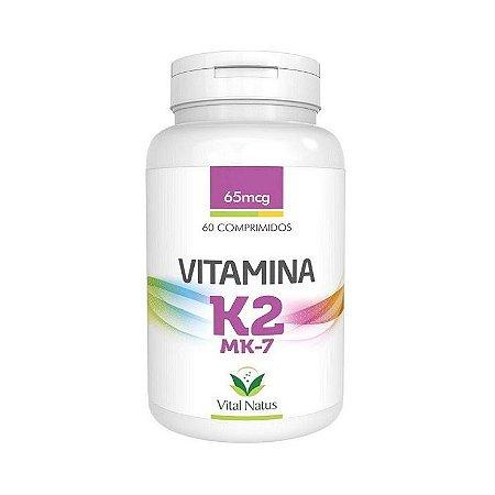 Vitamina K2 MK-7 VITAL NATUS 149mcg 60 Comprimidos