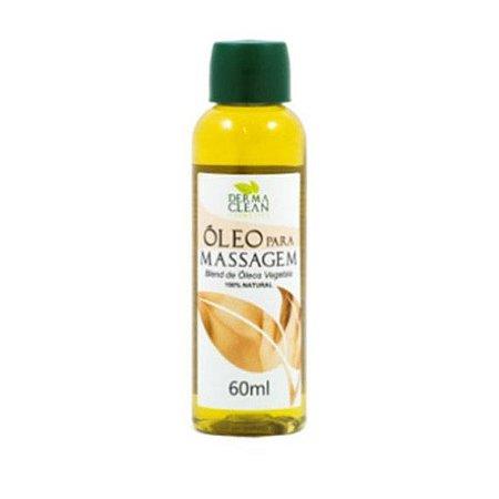 Óleo de Massagem (Blend de Óleos Vegetais) 100% Natural DERMACLEAN 60ml