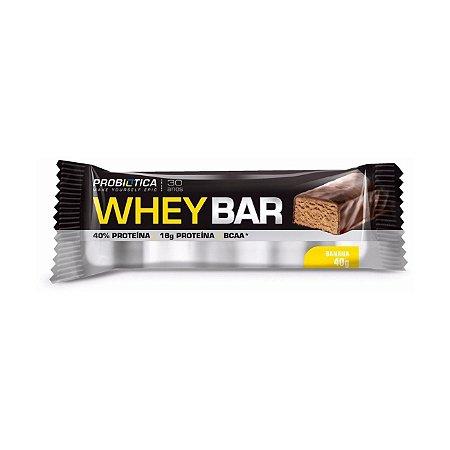 Whey Bar PROBIÓTICA Sabor Banana 40g