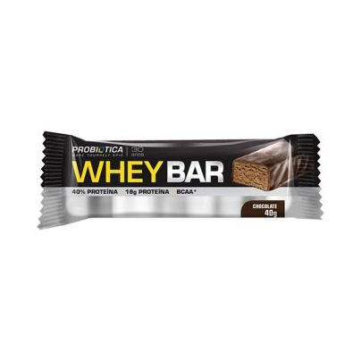 Whey Bar PROBIÓTICA Sabor Chocolate 40g