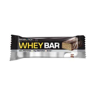 Whey Bar PROBIÓTICA Sabor Coco 40g