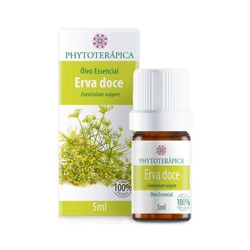 Óleo Essencial de Erva Doce (Foeniculum vulgare) PHYTOTERÁPICA 5ml