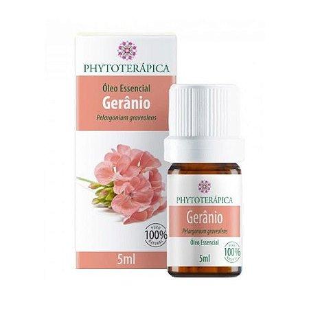 Óleo Essencial de Gerânio (Pelargonium graveolens) PHYTOTERÁPICA 5ml