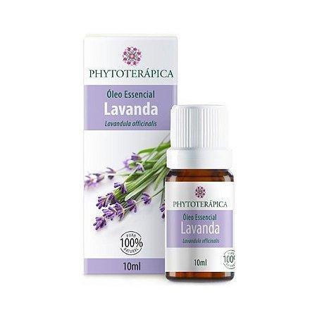 Óleo Essencial de Lavanda (Lavandula officinalis) PHYTOTERÁPICA 10ml