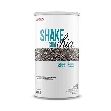 Shake Com Chia CHÁ MAIS (ClinicMais) Sabor Baunilha 400g