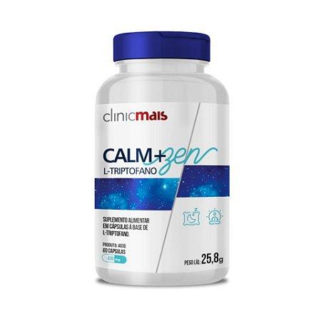 Calm+Zen L-Triptofano CHÁ MAIS (ClinicMais) 430mg 60 Cápsulas
